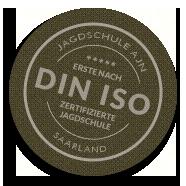Din iso logo jagdschule saarland