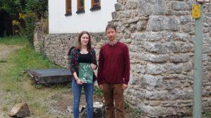 Pia Sigmund legte mit erst 15 Jahren die beste Jägerprüfung September 2016 in der Jagdschule AJN ab