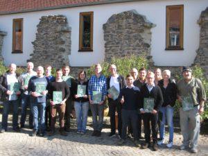 Verleihung der Jägerprüfungszeugnisse Jagdschule AJN - Jägerprüfung Dezember 17